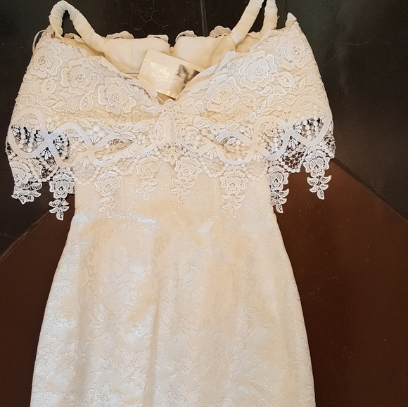 7a5d58a4bf8 NWT Vintage lace Jessica McClintock wedding dress